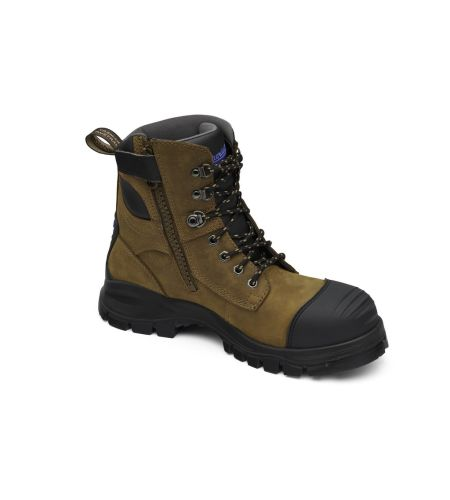 983 BLUNDSTONE 6 INCH ZIP SIDED SAFETY BOOT
