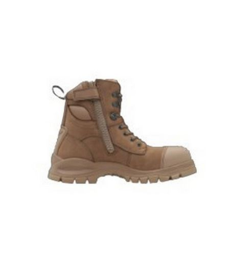 984 BLUNDSTONE 6 INCH ZIP SIDED SAFETY BOOT
