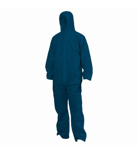 DISPOSABLE SMS COVERALLS BLUE