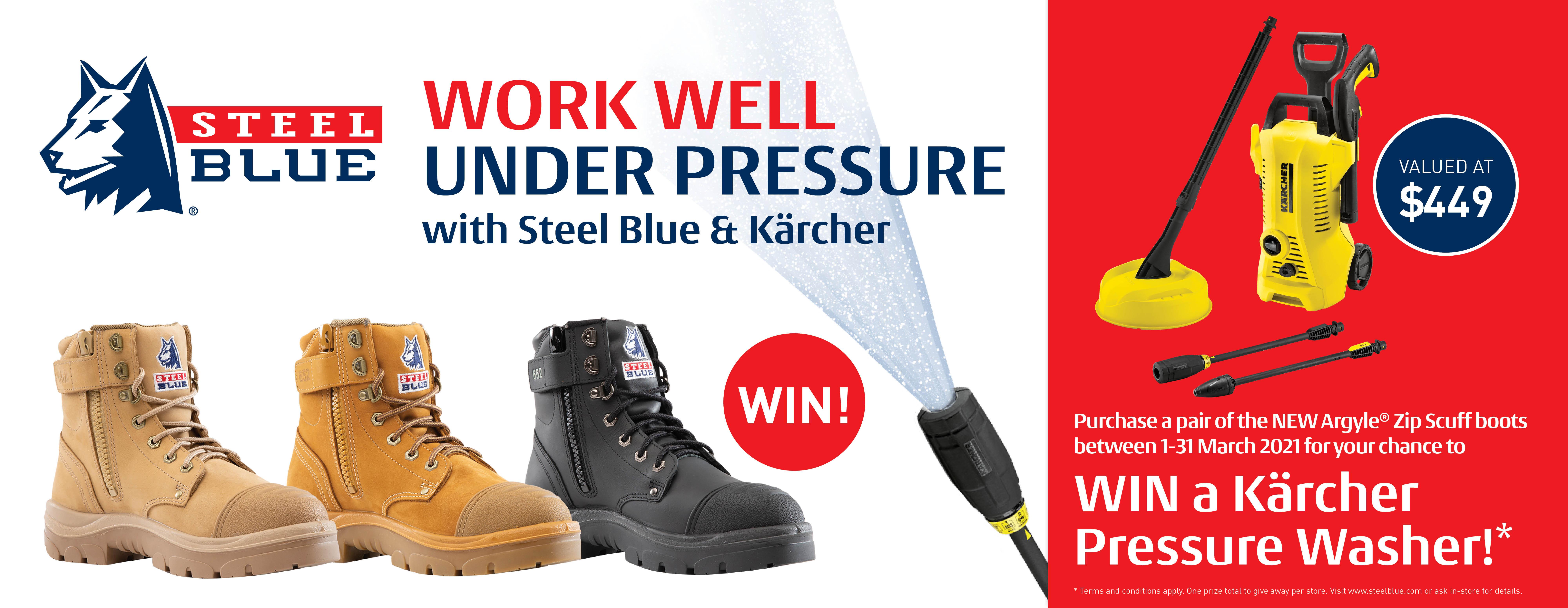 Steel Blue Karcher
