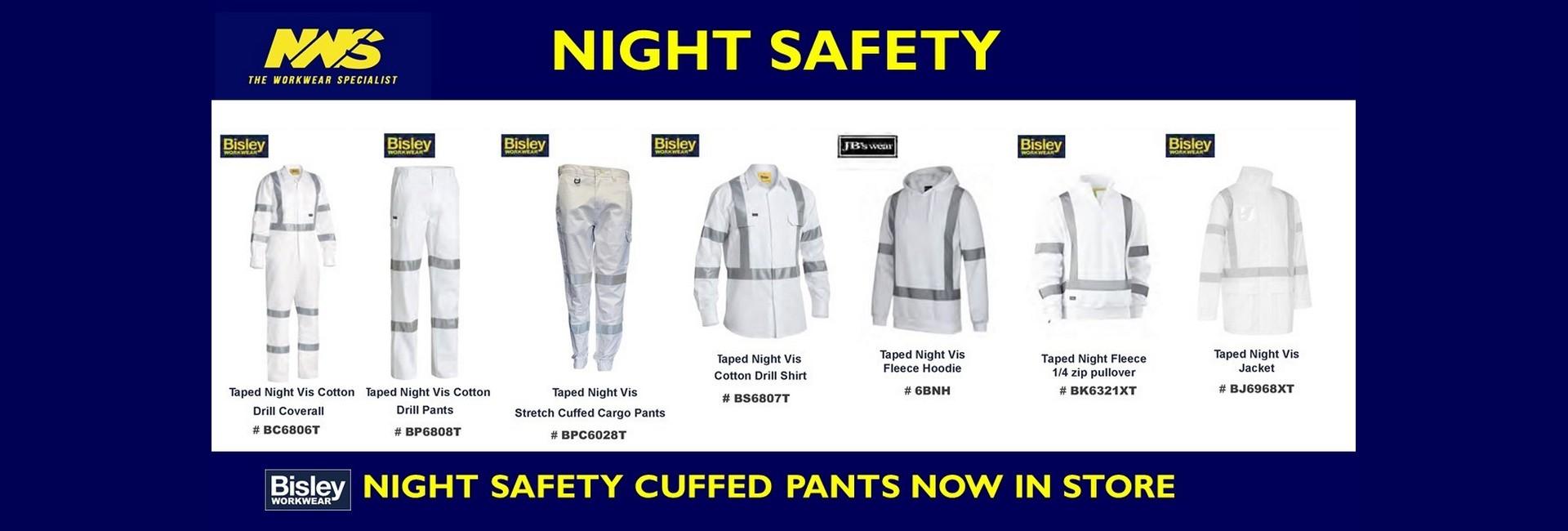 Bisley cuff night safety